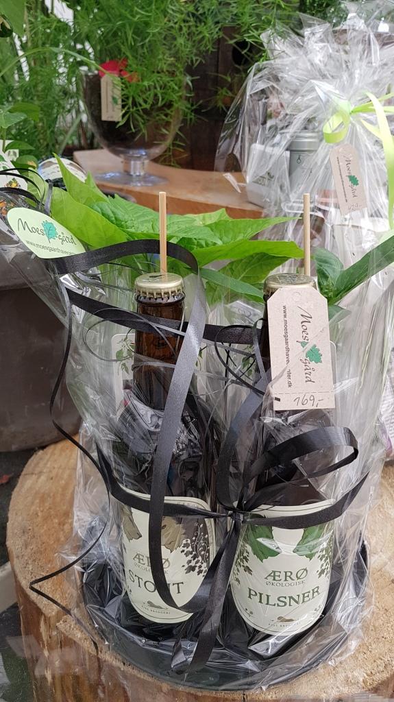 gavekurv med chili og økologisk øl